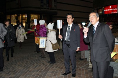 伊藤氏=2014年3月11日、さいたま市