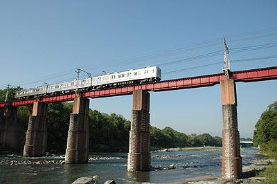秩父鉄道荒川鉄橋