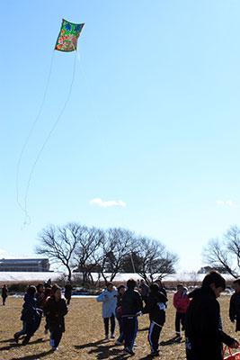 第6回春日部市新春凧あげ祭り1