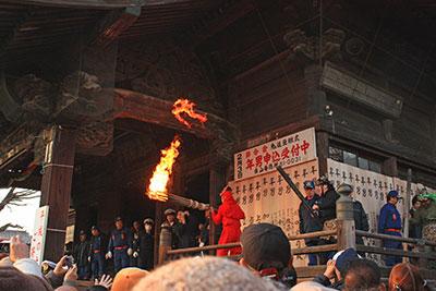 加須市・鬼追い豆撒き式1