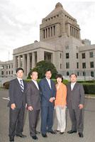 大門参院議員と北関東4県の候補者