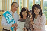 6月6日、さいたま市桜区演説会