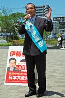 5月28日、南与野駅西口