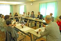 5月28日、松原団地自治会と懇談