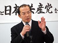 伊藤岳001 日本共産党を語るつどいにて