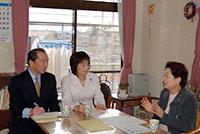伊藤岳003 高齢者グループホームを訪問