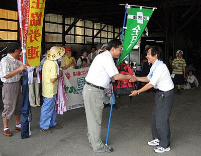 20090712平和大行進引き継ぎ集会